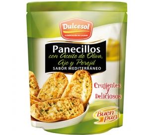 PANECILLOS TOSTADOS AC.OLIVA-AJO-PEREJIL DULCESOL 160 GR.