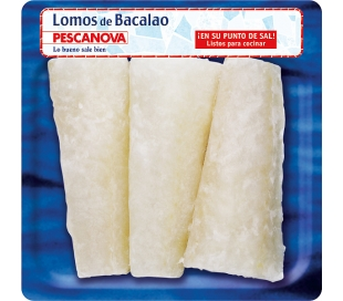 BACALAO LOMO PESCANOVA 300 GR.