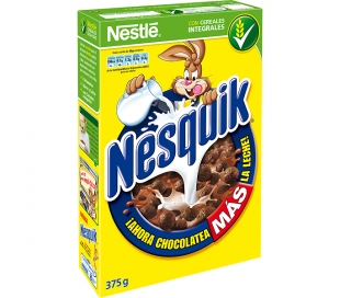 CEREALES CHOCOLATE NESQUIK 375 GR.