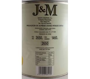 MELOCOTON EN ALMIBAR JM 2650 GR.