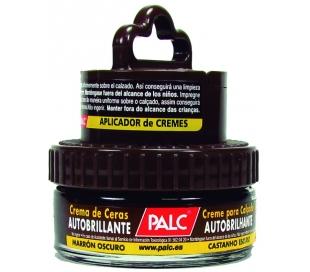 CREMA DE CALZADO MARRON C/APLICADOR PALC 50 ML.