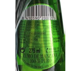 ZUMO GASIFICADO MANZANA APPLETISER PACK 6X250 ML.
