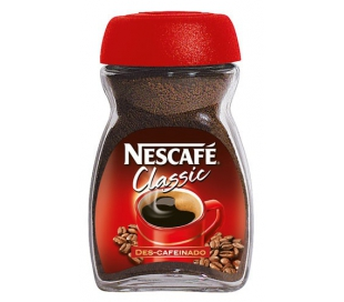 CAFE SOLUBLE DESCAFEINADO NESCAFE 50 GR.