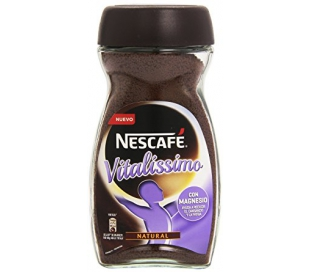 CAFE SOLUBLE NATURAL VITALISSIMO NESCAFE 200 GRS.