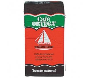 CAFE MOLIDO NATURAL ORTEGA 250 GR.